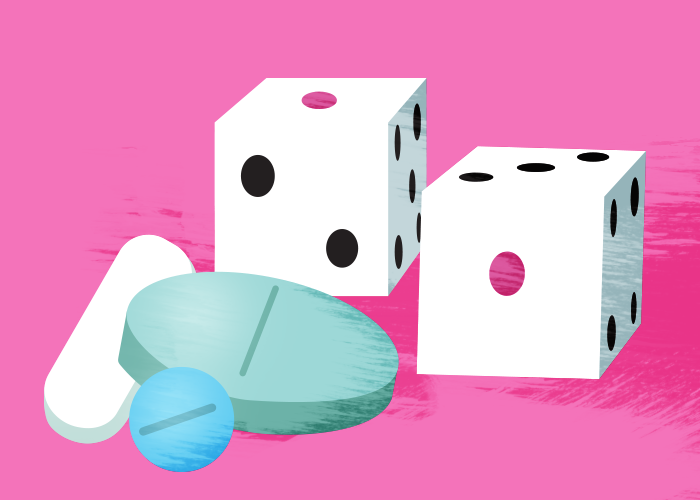 Menopause treatments dice