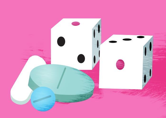 Menopause treatments dice