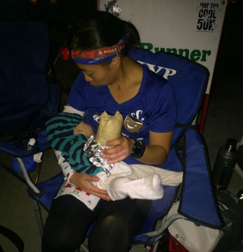 Breastfeeding Ultramarathon Mother