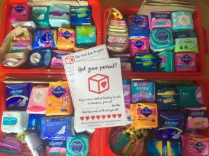 How The Red Box Project and Other Initiatives Protect Menstruating Young Women